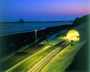 Ramsgate-Harbour-Approach-Road-Tunnel-at-night