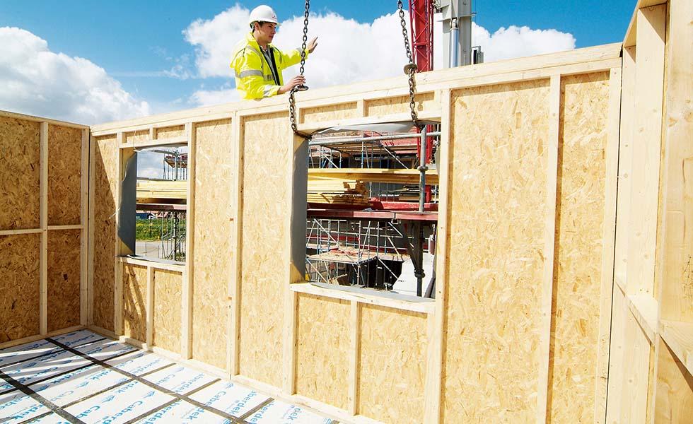Timber frame suppliers – Update 1 – Quintin QS