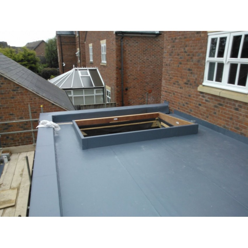 Nice Plastic Membrane Flat Roofing, Complete With 100mm Insulation Beneath (per  M2) U003c15m2